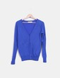 Chaqueta de punto azul klein  Zara