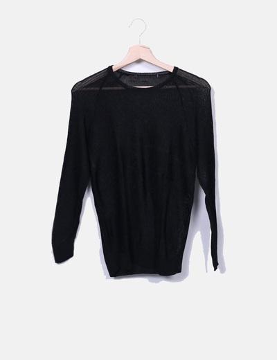 Camiseta de malla negra NoName