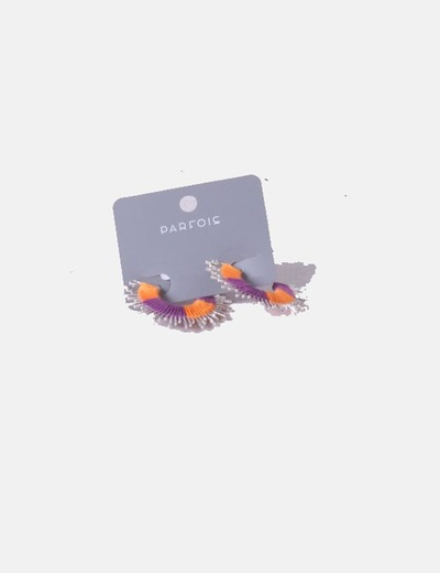 Two-tone earrings Parfois