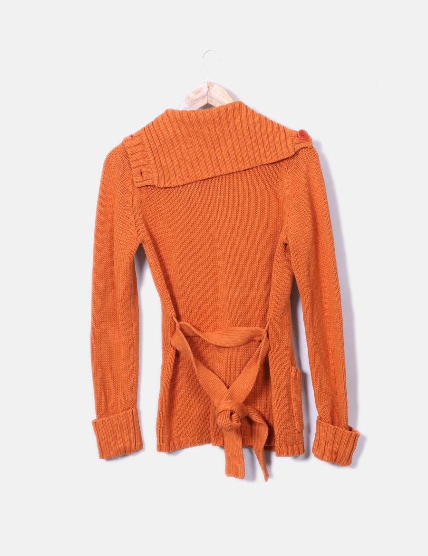 ... punto Bershka naranja de Chaquetas y online de Abrigos baratos Mujer  Chaqueta qO5Ttw 004128682f73