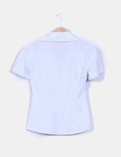 Camisa de cuadros entallada