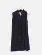 Vestido negro sin mangas Massimo Dutti