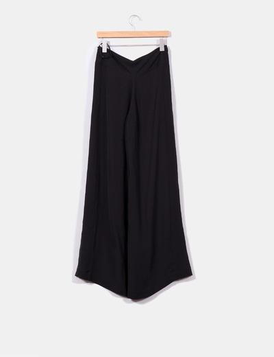 Pantalon palazzo negro