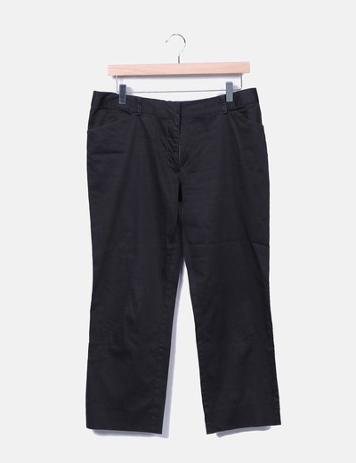 Pantalon noir droit Homeless