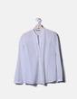 Blusa blanca de manga larga Massimo Dutti