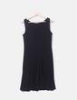 Vestido licra fluido negro Ralph Lauren