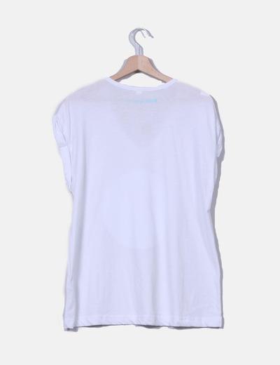 Camiseta blanca print candy ladybug