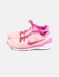 Deportiva naranja y rosa combinada Nike