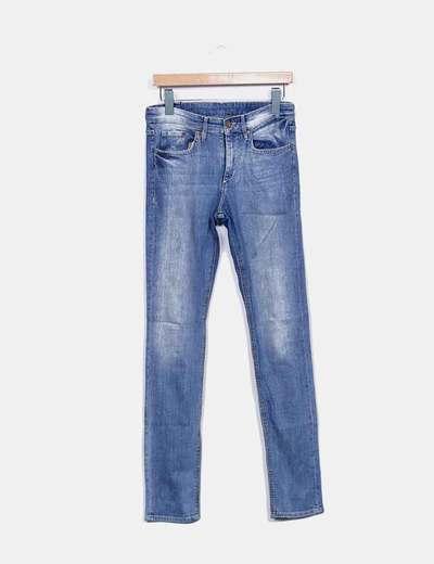 Jeans denim degastado H&M