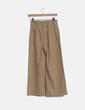 Pantalón culotte camel Bershka