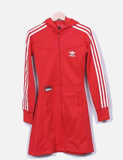 amplificación tema borde  chaqueta adidas larga authentic 94d13 53cac