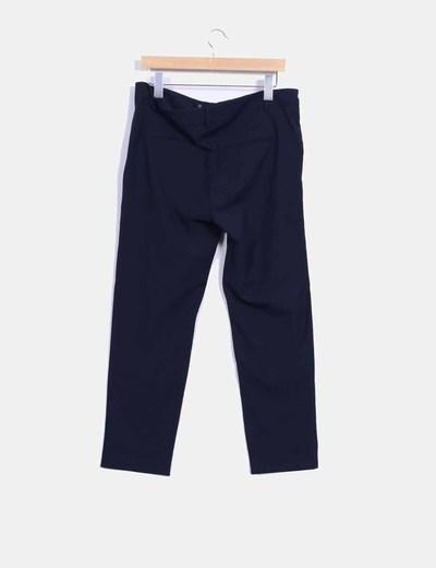 Pantalon de vestir azul marino