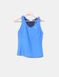 Top azul deportivo Nike
