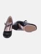 Zapato de tacón charol negro Clarks