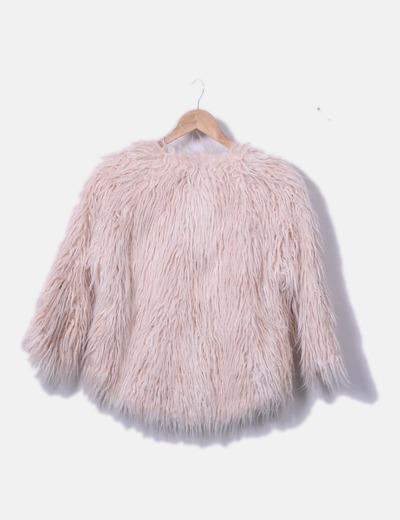 moda mejor valorada nuevo autentico productos de calidad Chaqueta de pelo rosa