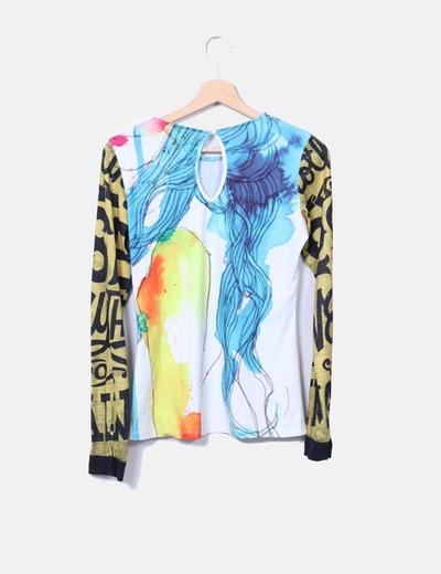 d68827884 Culito From Spain Camiseta multicolor con strass (descuento 78%) - Micolet