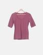 Camiseta rosa manga francesa NoName