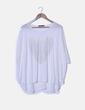 Camiseta blanca print corazón con strass L' olive verbe