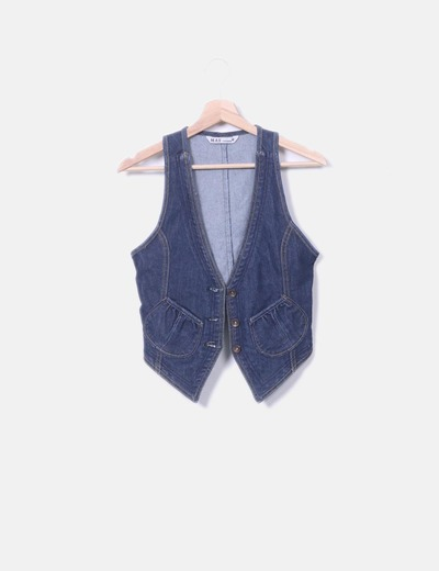 Chaleco denim MAS fashion