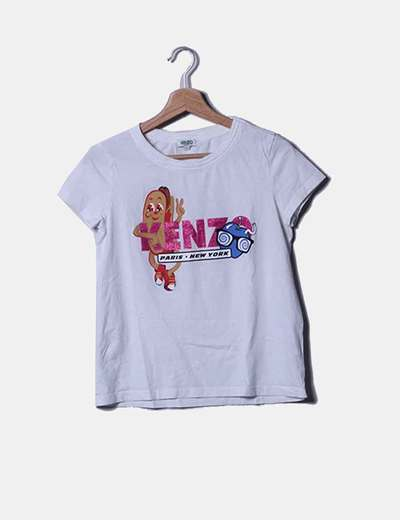 Camiseta blanca Kenzo