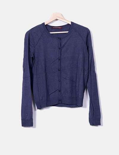 Veste bleue Comptoir des Cotonniers