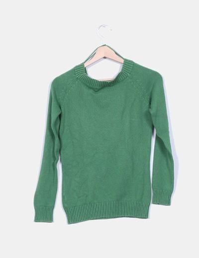 Jersey de punto verde
