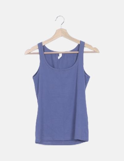 Camiseta tirantes basic lila