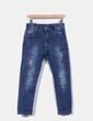Jeans denim con abalorios NoName