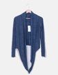 Chaqueta tricot corta azul Suiteblanco