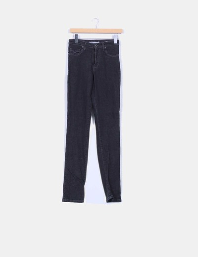 Jeans noirs slim fit New Caro