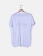 Camiseta blanca print texto NoName