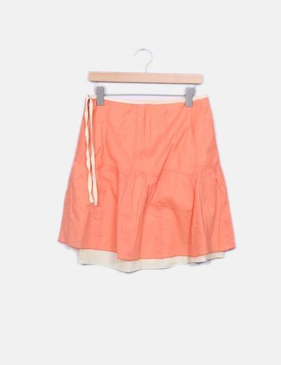 Falda capas naranja NoName