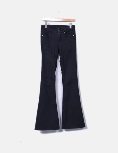 Jeans negro campana H&M