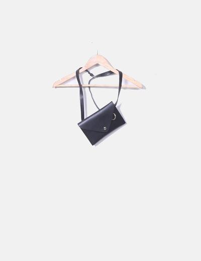 Fanny pack noir Zara