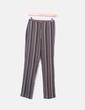 Pantalón de rayas tricolor Mango