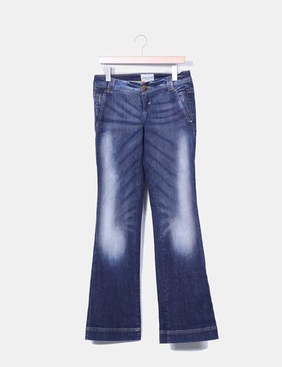 Jeans vaquero acampanado NoName