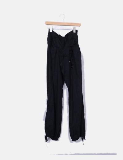 Pantalón negro harem