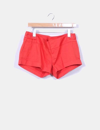 Short  rojo Pull&Bear