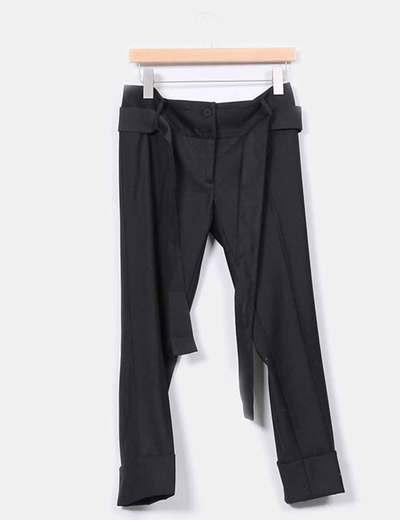 Pantalón negro tobillero Imperial