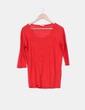 Suéter tricot rojo Zara