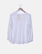 Blusa blanca bolsillos La Morena