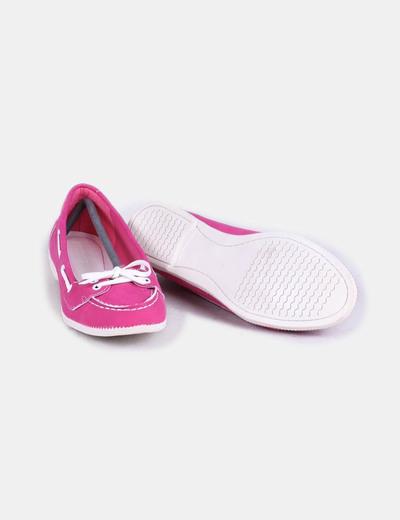 Zapato plano fucsia