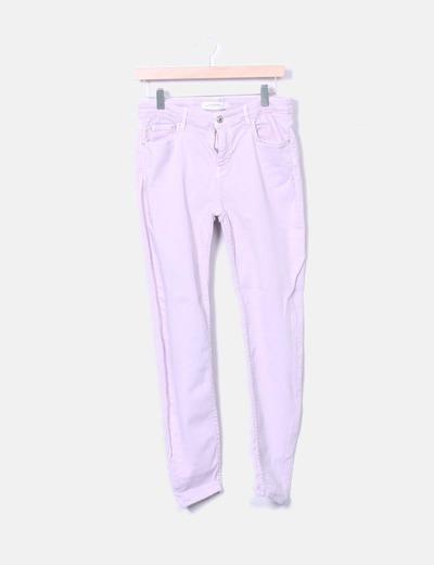 Jeans denim rosa Zara