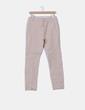 Pantalón beige de pinza Zara