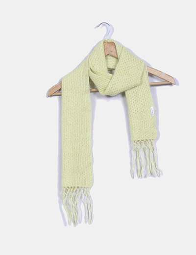 Bufanda amarilla de lana Soft Grey