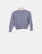 Cárdigan tricot gris Leño