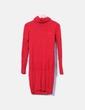 Vestido rojo de punto Tommy Hilfiger