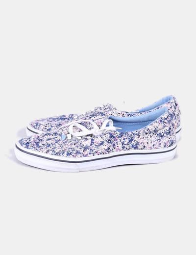 Chaussures de sport imprimé floral Pull&Bear
