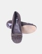 Zapato marrón con flecos Tex Woman