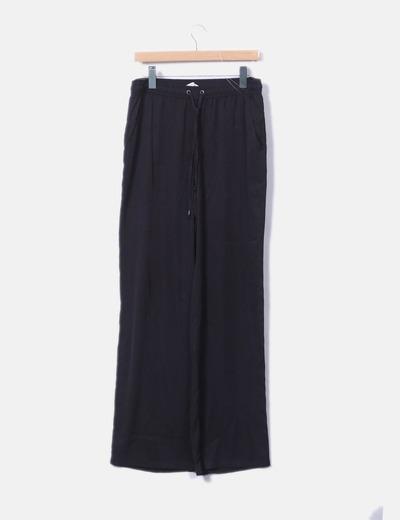 Pantalón baggy de gasa